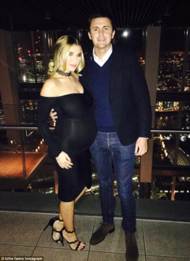 72fed454c76 The happy couple  The 26-year-old former TOWIE star took to Instagram on  Tuesday to reveal... Billie Faiers.