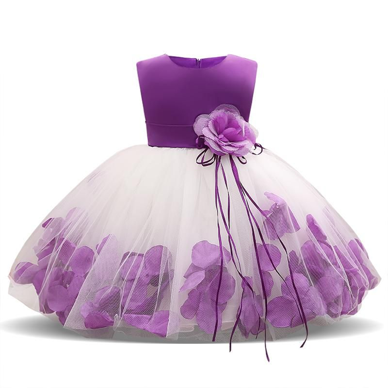 40e34ded9802 1 Year Birthday Baby Girl Party Dress Baptism Infant Christening Gown  Newborn Toddlers Bebes Kids Clothes 6 9 12 18 24 Months