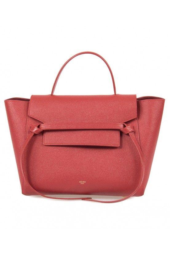 3 Celine Belt Bag in Red Grain Calfskin   Shop Under   Baggage ... 32b6adf72d