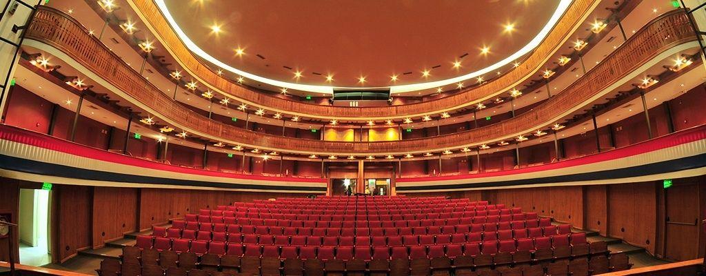 Interior del Teatro Municipal de Asunción (con imágenes ...