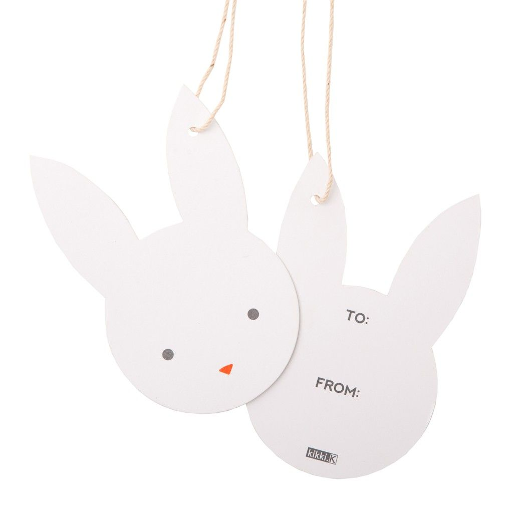 Bunny gift tags wrap pinterest bunny gift and easter bunny gift tags negle Image collections