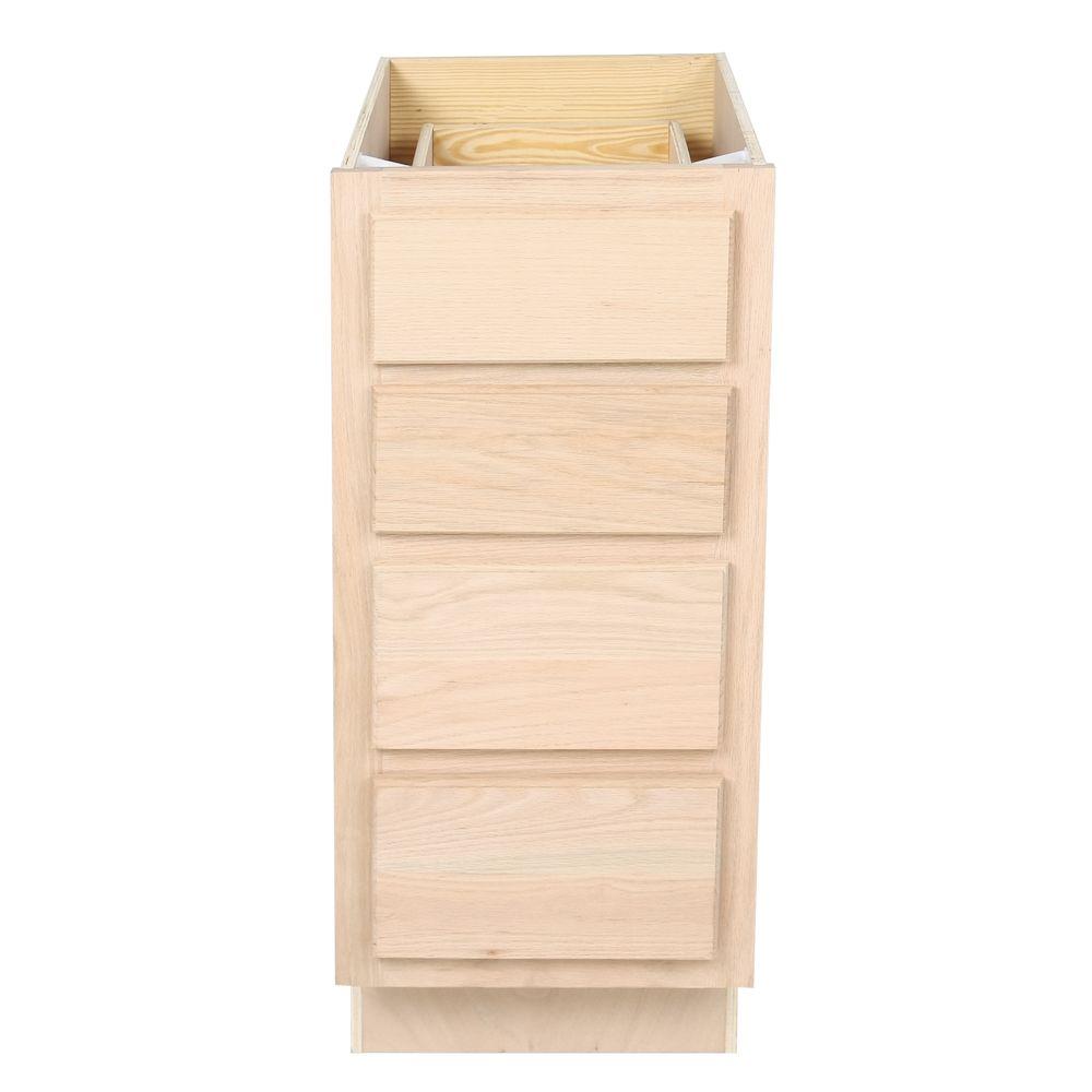 Unfinished Bathroom Vanity Drawer Base Cabinet 15