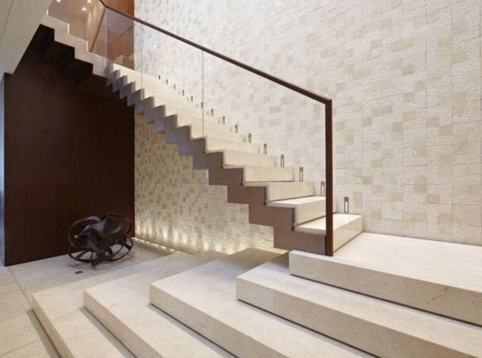 Escaleras de madera aluminio cristal 101 ideas for Planos de escaleras de madera