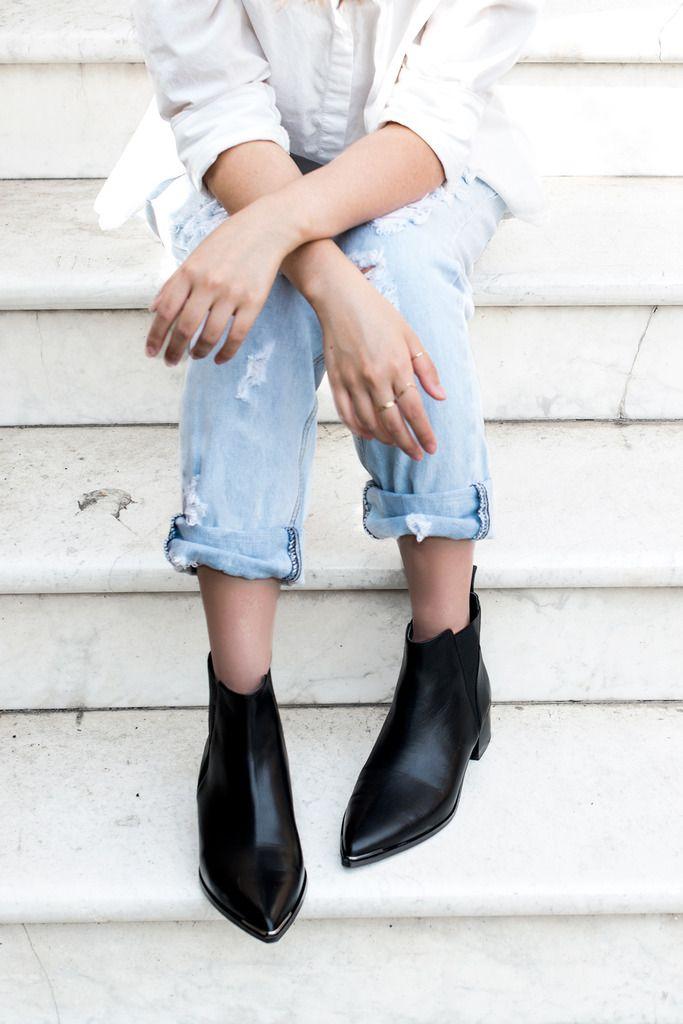 acne studios jensen boots andwhatelse wear. Black Bedroom Furniture Sets. Home Design Ideas