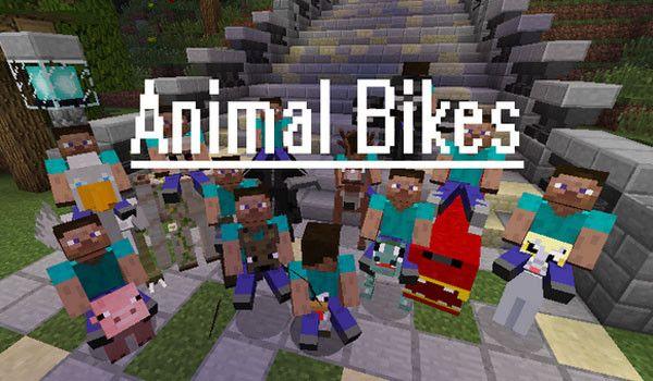Animal Bikes Mod Para Minecraft 1 8 En 2020 Modelos De Minecraft Minecraft Animales