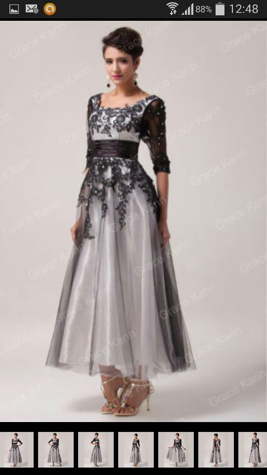 eb25a60d3 Dress for mother of the bride in 1940s - 1950s