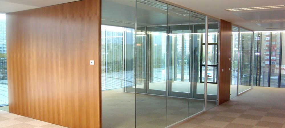 Resultado de imagen para tabiques divisorios para oficinas for Tabiques divisorios para oficinas