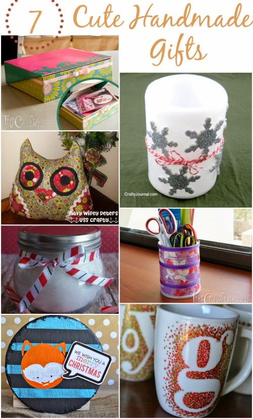 Quick And Easy Handmade Gift Ideas Diy From The Crafty Blog