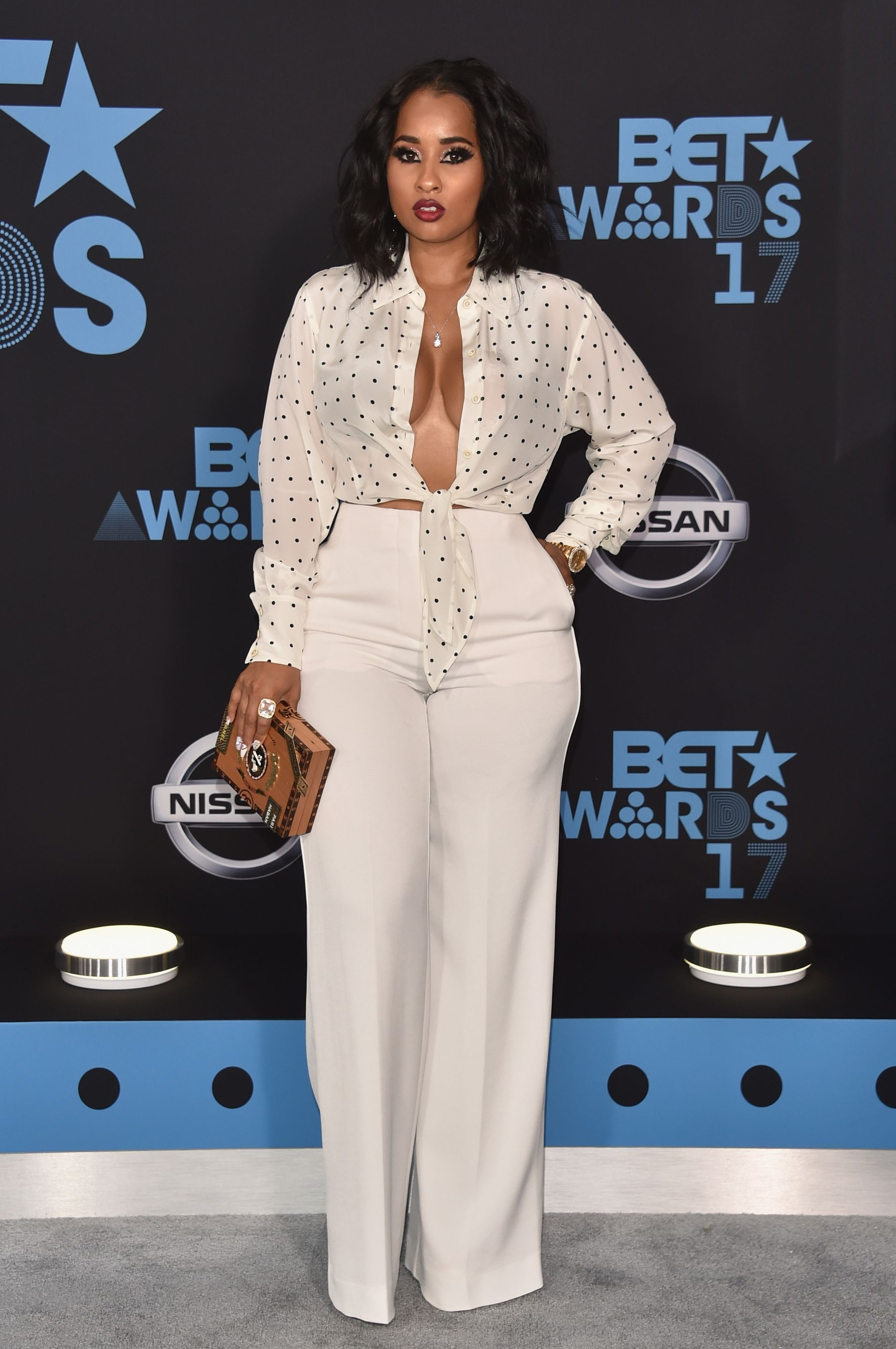 2017 BET Awards - Arrivals - Tammy Rivera - Button up for ...