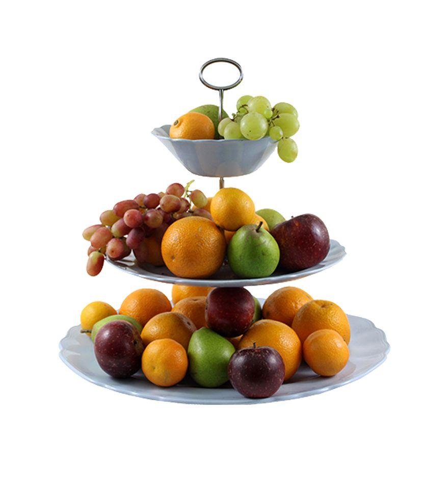 J & G Meakin 'Celeste Sol' med frugter