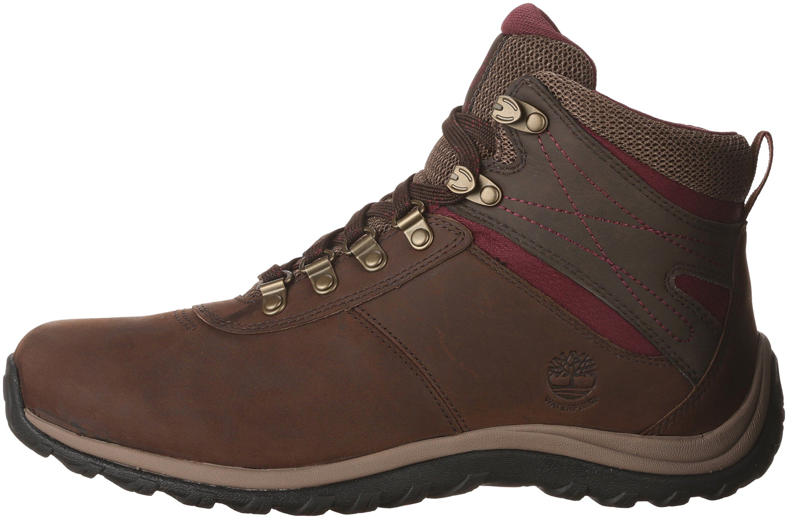 90210d8b04724 Timberland Womens Norwood Mid Waterproof Hiking Boot Dark Brown 8.5 Medium  US *** Continue to the product at the image link. (This is an affiliate  link) # ...