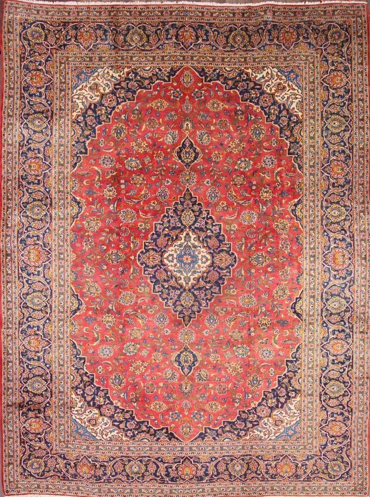 Low Price Fl 10x13 Mashad Persian Area Rug Wool Oriental Carpet 13 1 X 10