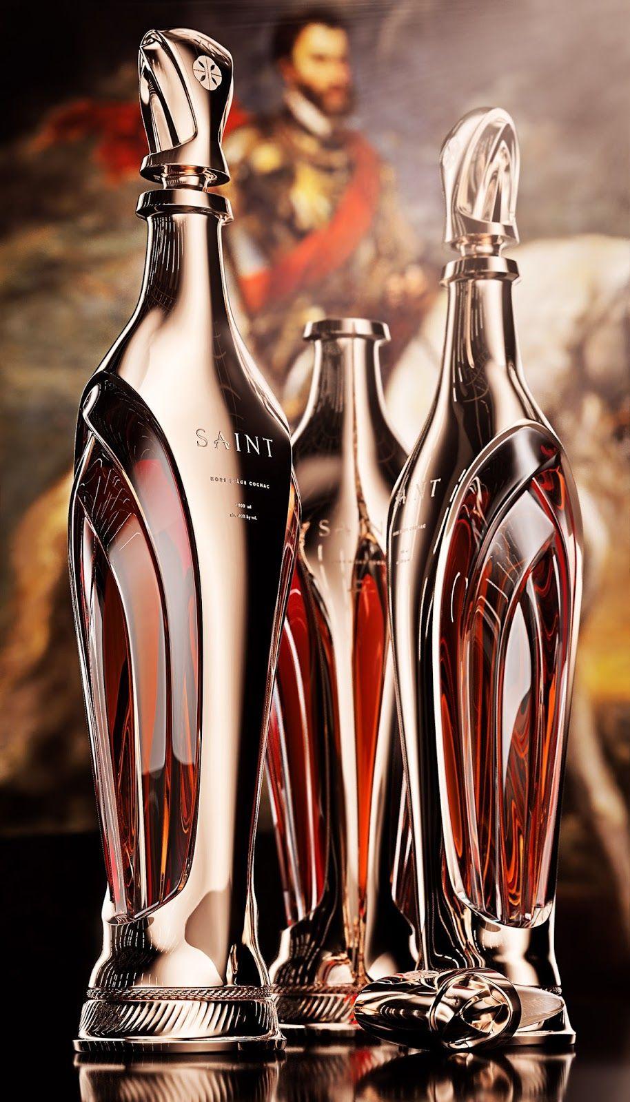Saint – Luxury Cognac Bottle Concept