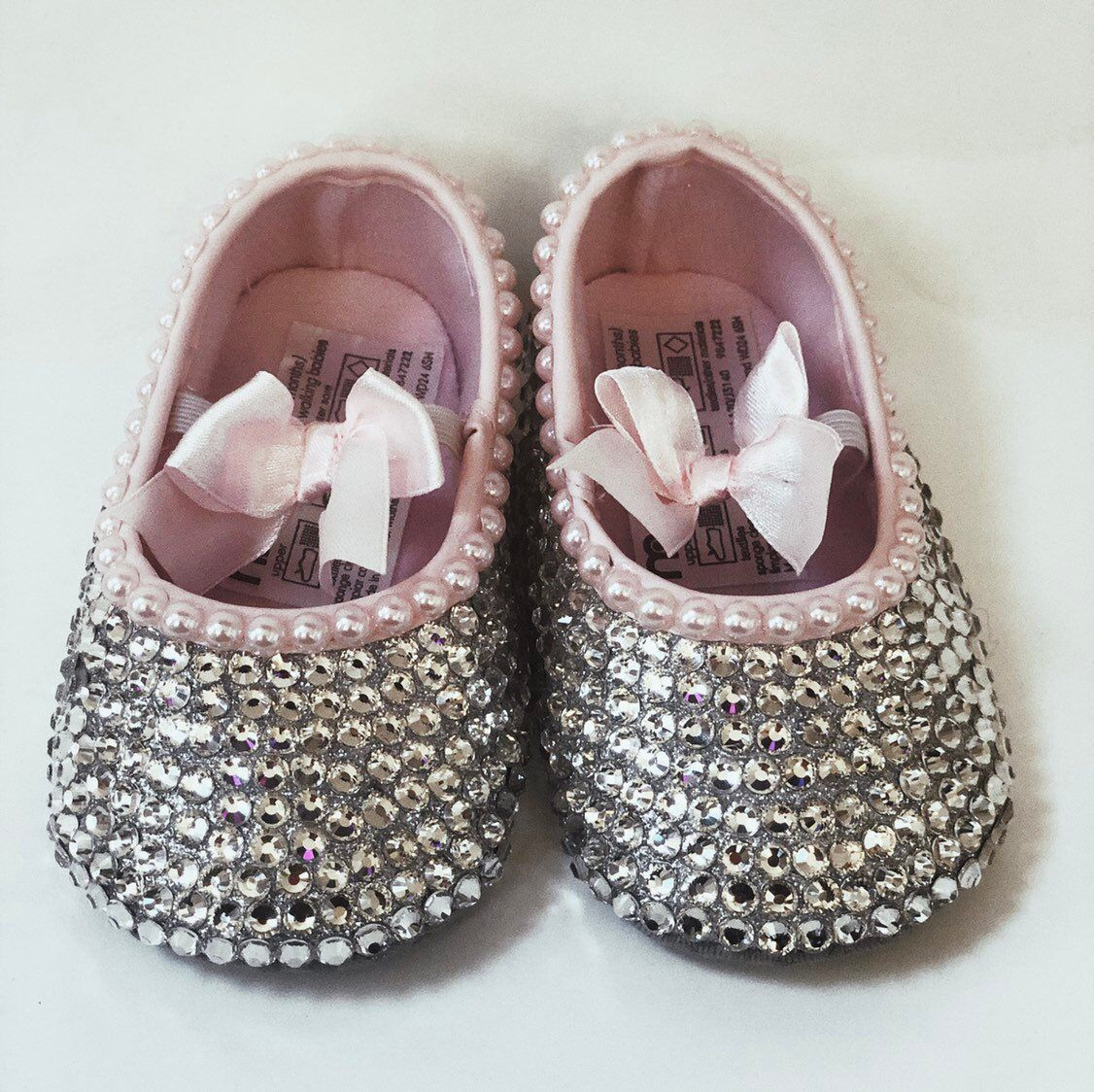 8d12860b59003d Excited to share the latest addition to my  etsy shop  Bedazzled Bling Baby  Shoes - Bows