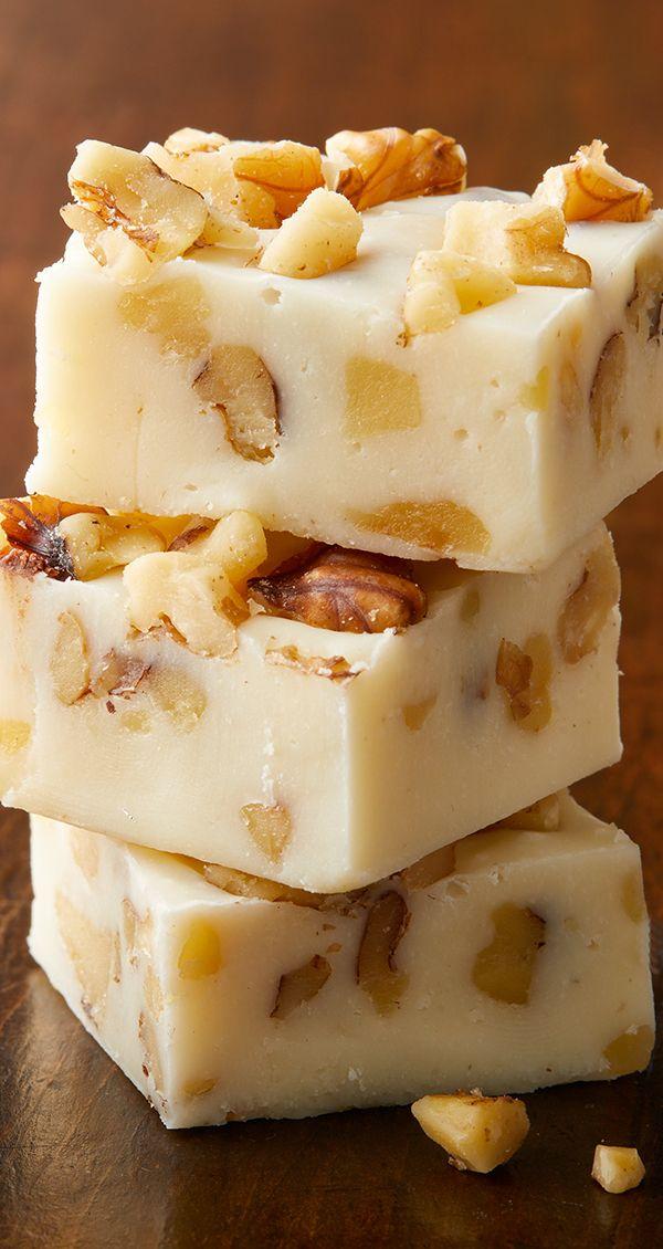 The Uncookie Exchange Maple Walnut Fudge Walnut Fudge Sweetened Condensed Milk Recipes Homemade Fudge