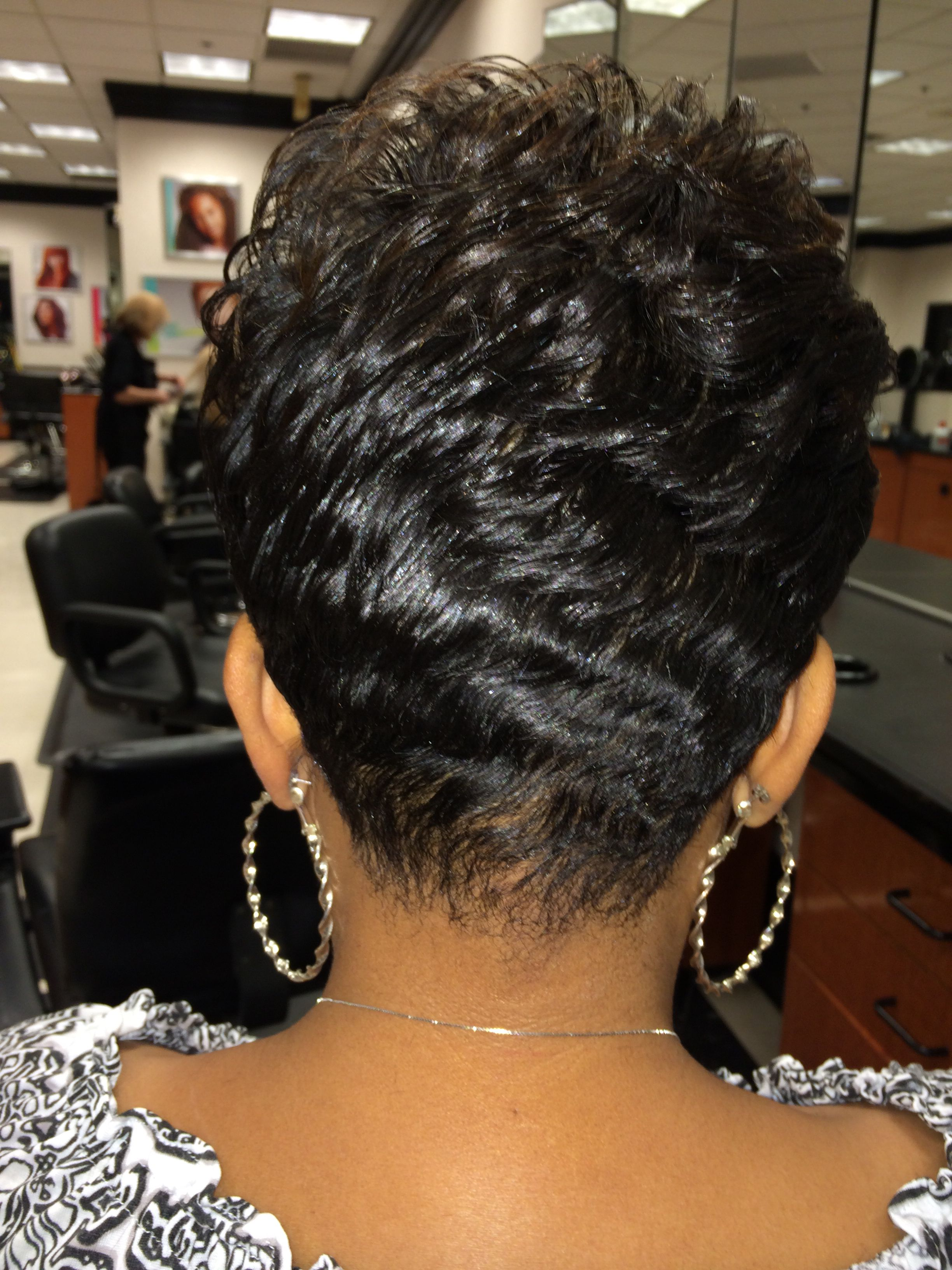 Short Hairstyle For Black Women Natural Hair Styles Easy Hair