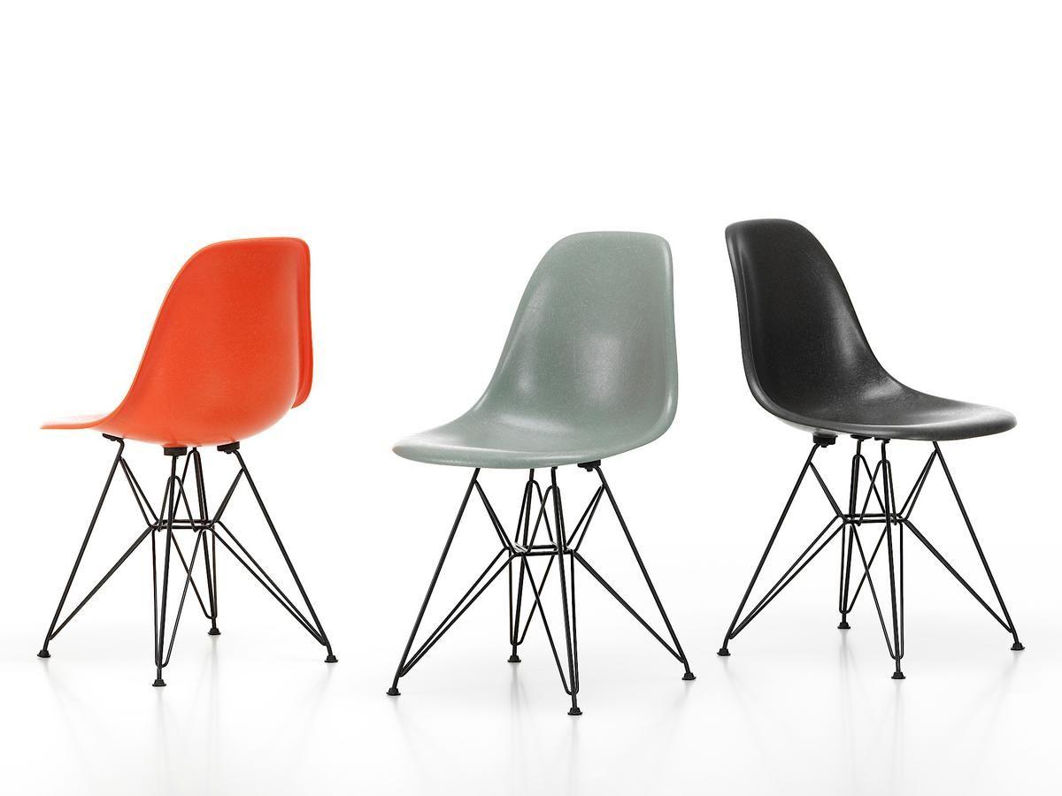 Vitra Eames Fiberglass Chair Dsr Eames Design Stuhlpolster Stuhl Neu Gestalten