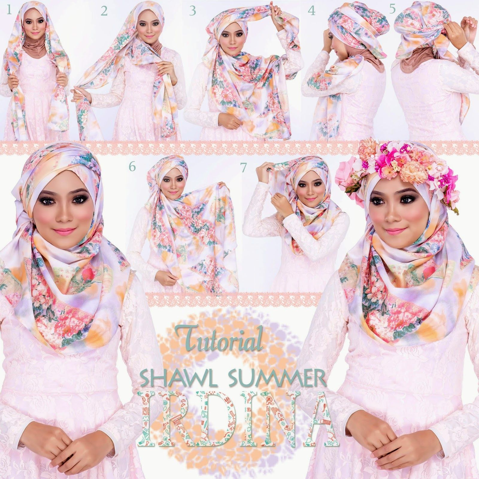 Hijab Tutorial Scarf Sweethoney Hijab Tutorial Pinterest