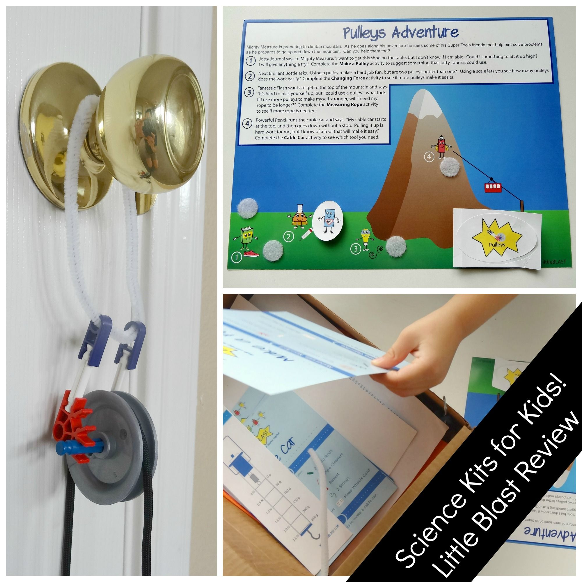 Science Kits For Kids Little Blast Review And Giveaway