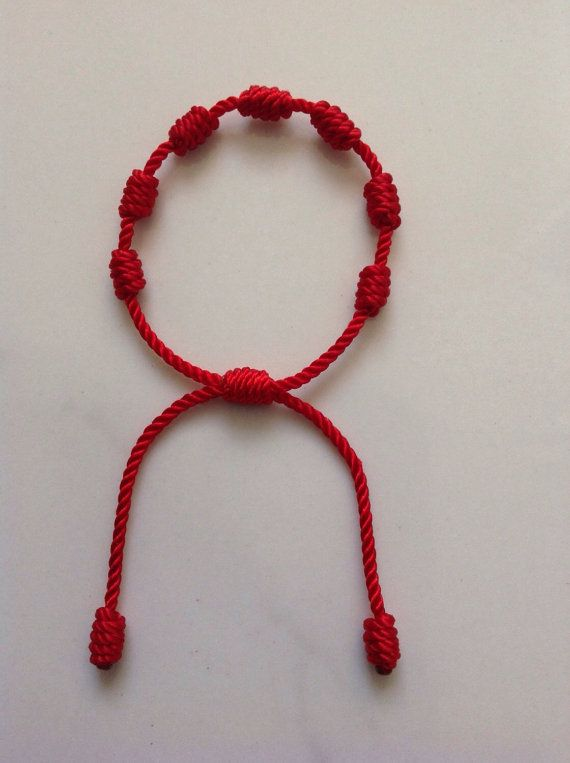 Red Bracelet For Baby Adjustable Protection.  6bb3bbead5c7
