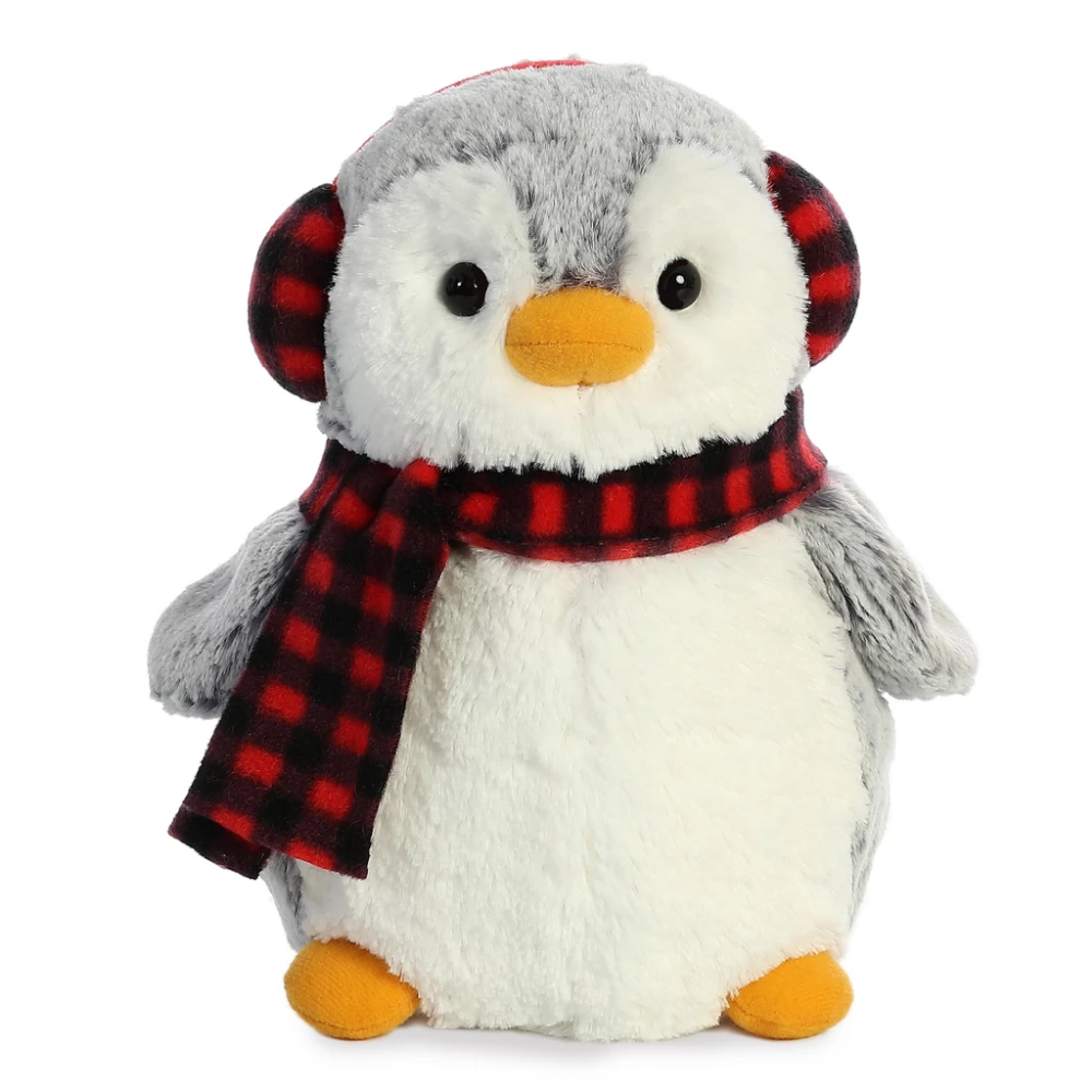 Can You Wash Stuffed Animals That Say Surface Wash Only Pompom Penguin Checkered Ensemble 9in Premium High Quality Plush Teddy Plush Toys Llc With Images Plush Toy Plush Pom Pom