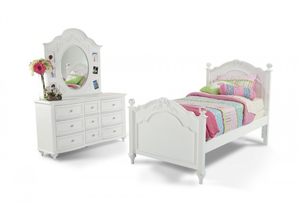 Madelyn 6 Piece Twin Youth Bedroom Set   Bobu0027s Discount Furniture