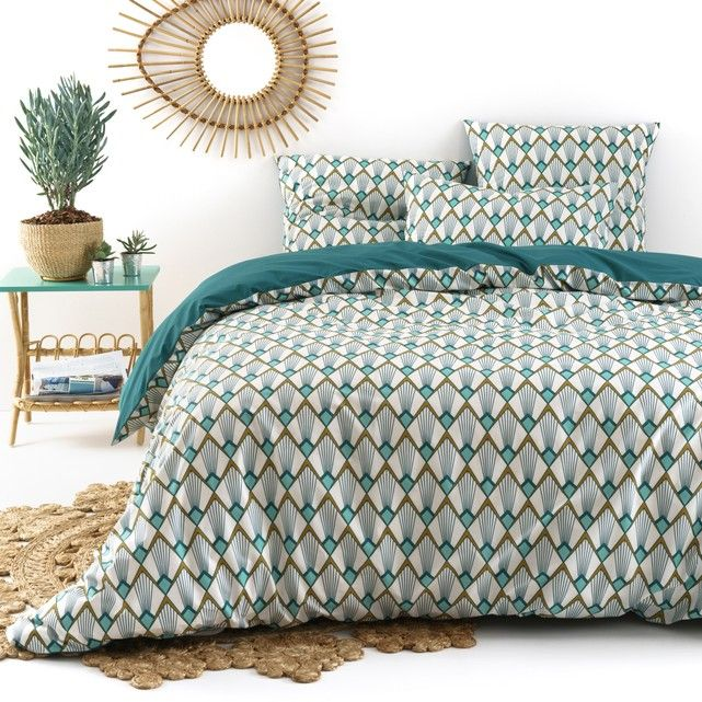 Elisa Percale Printed Duvet Cover La Redoute Interieurs Elisa Best Quality Percale Printed Duvet Cover This Vintage Ins Duvet Covers Bed Linen Inspiration Bed
