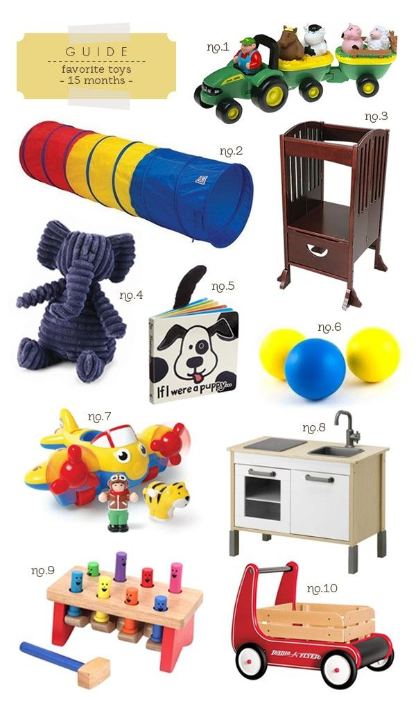 Toys For 15 00 For Boys : Favorite toys for month olds hellobee guides