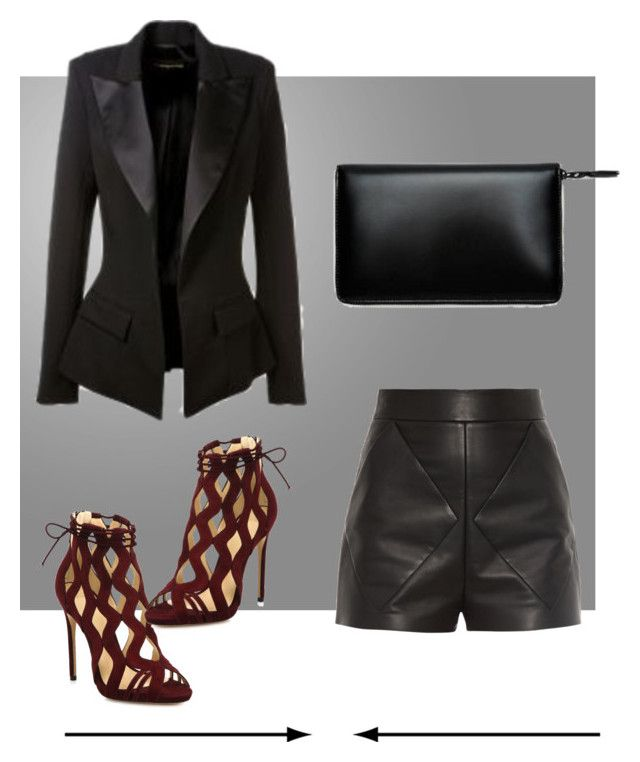 """""""Untitled"""" by fab2fab ❤ liked on Polyvore featuring Katie, Balenciaga and Alexandre Birman"""
