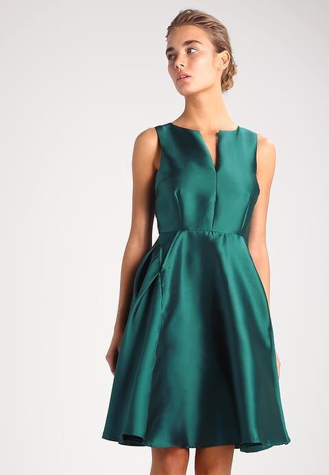 d3857e189bb6e Vero Moda VMMADDIE - Cocktailkleid   festliches Kleid - june bug -  Zalando.de