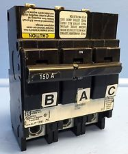 Square D Qob3150vh 150a Circuit Breaker 240v Type Qod Q0b3150vh Qob3150 150 Amp Ebay Listing Decorative Boxes Ebay