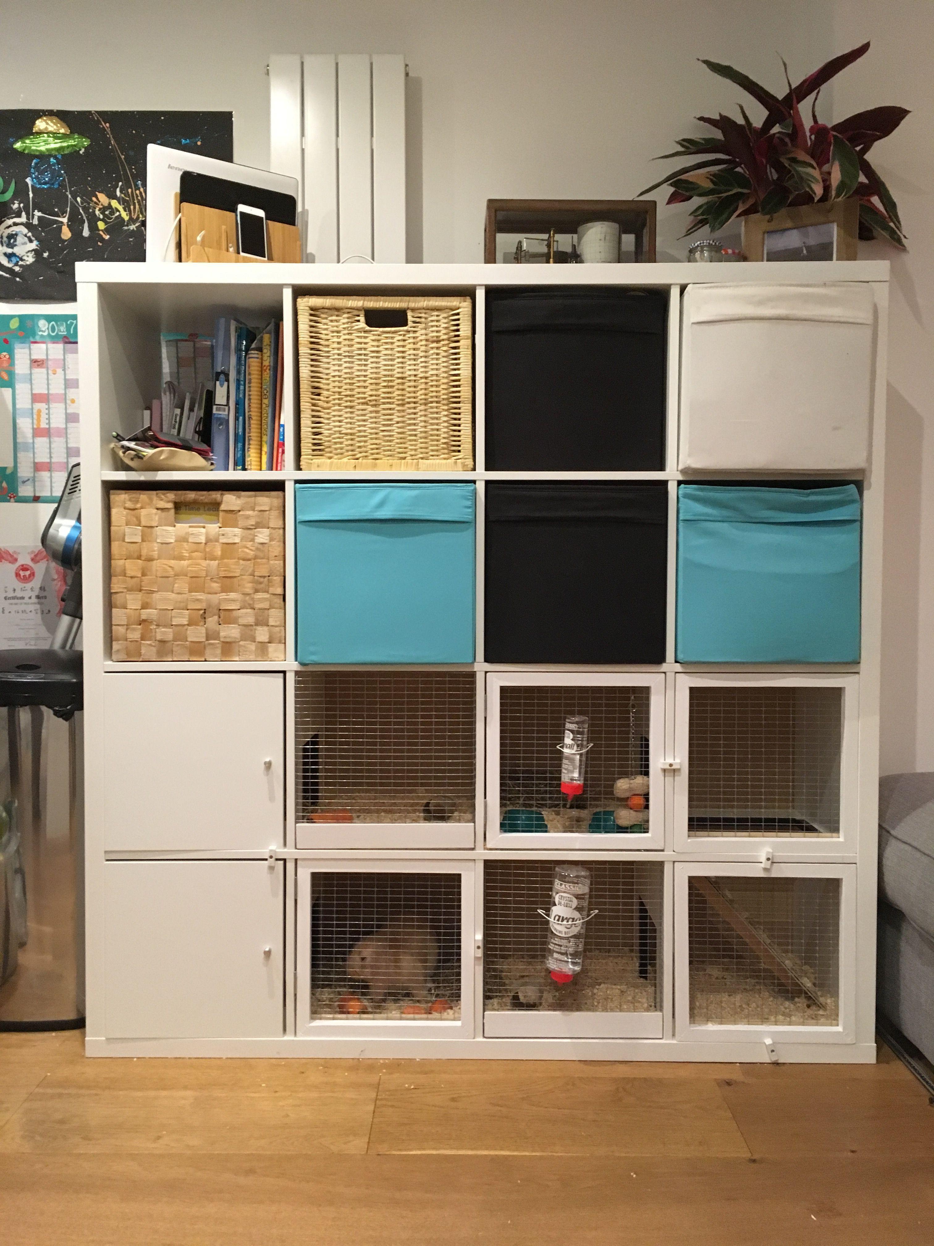 Homemade rabbit hatch ikea ikeahack ikeahacks domov