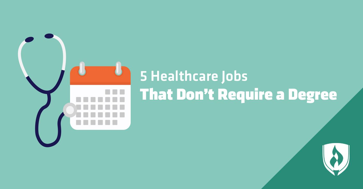 5 In Demand Healthcare Jobs That Don T Require A Degree