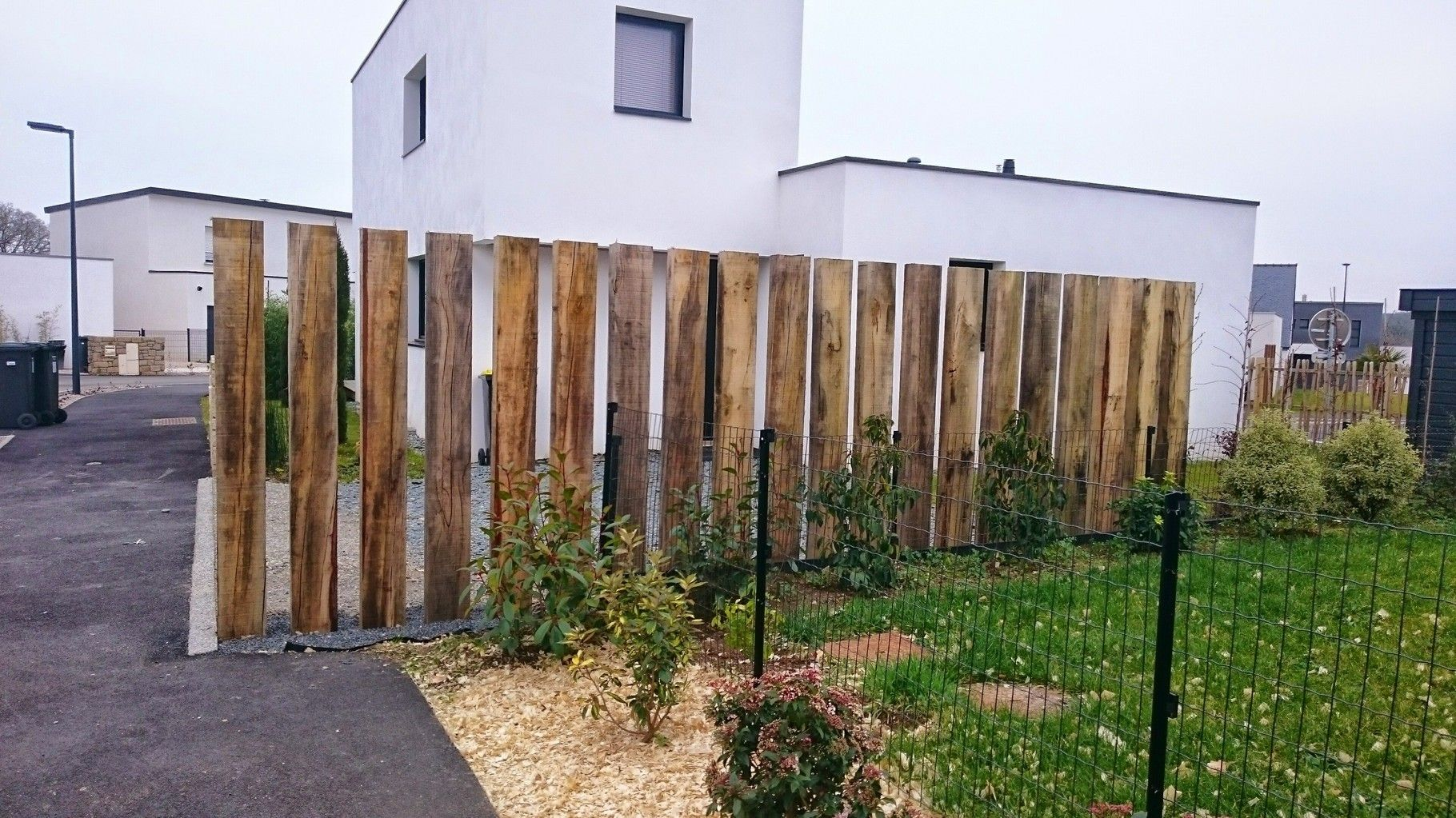 Traverse paysag re traverse de chemin de fer id esbois for Amenagement jardin brise vue