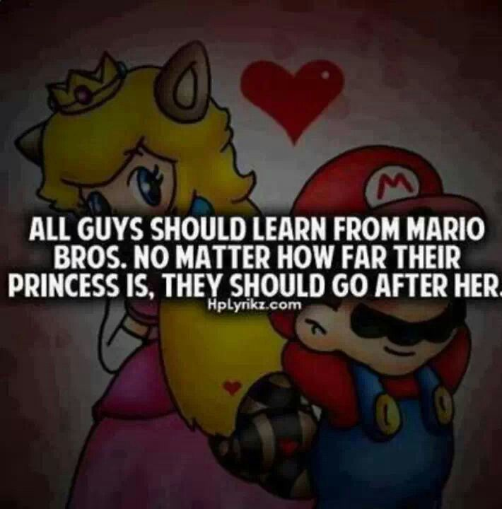 All guys should learn from Mario. No... - Newmoney ...