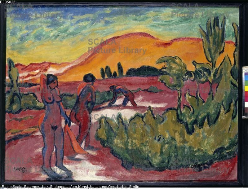 Pechstein Max 1881 1955 Summer In The Dunes 1911 Cuadros