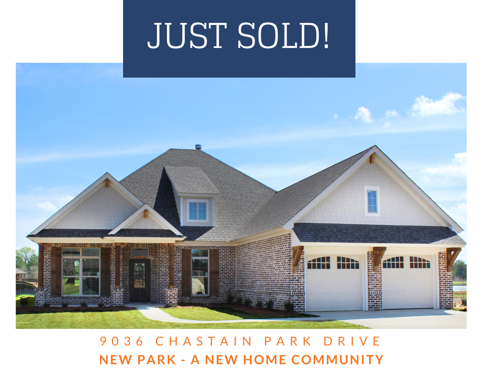 Congratulations to our new neighbors who closed on their home this morning!!  Thank you for choosing to call New Park home! #newparkliving #lowdernewhomes #mgmrealestate #mymgm #newhome #SOLD