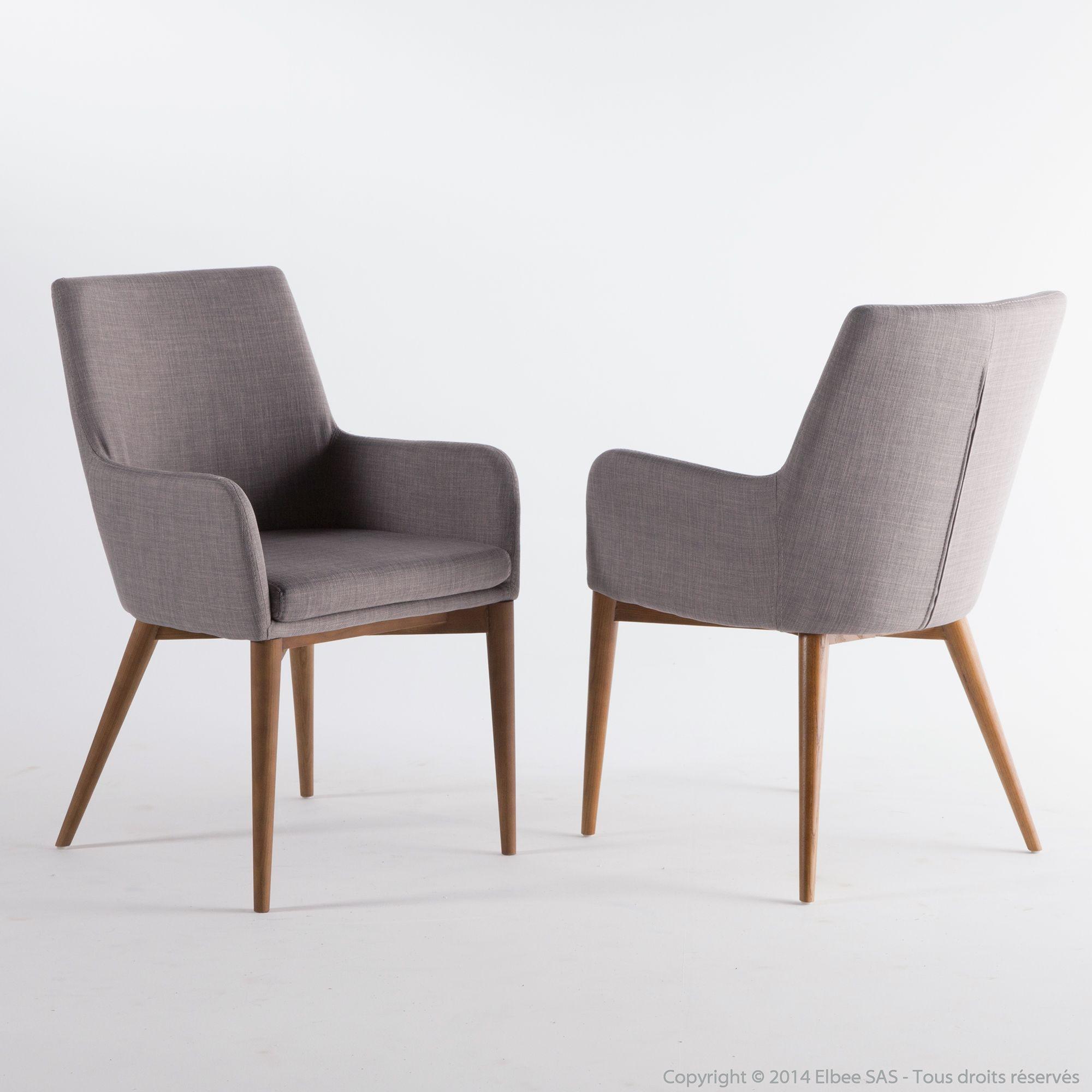 Chaise A Accoudoir Scandinave