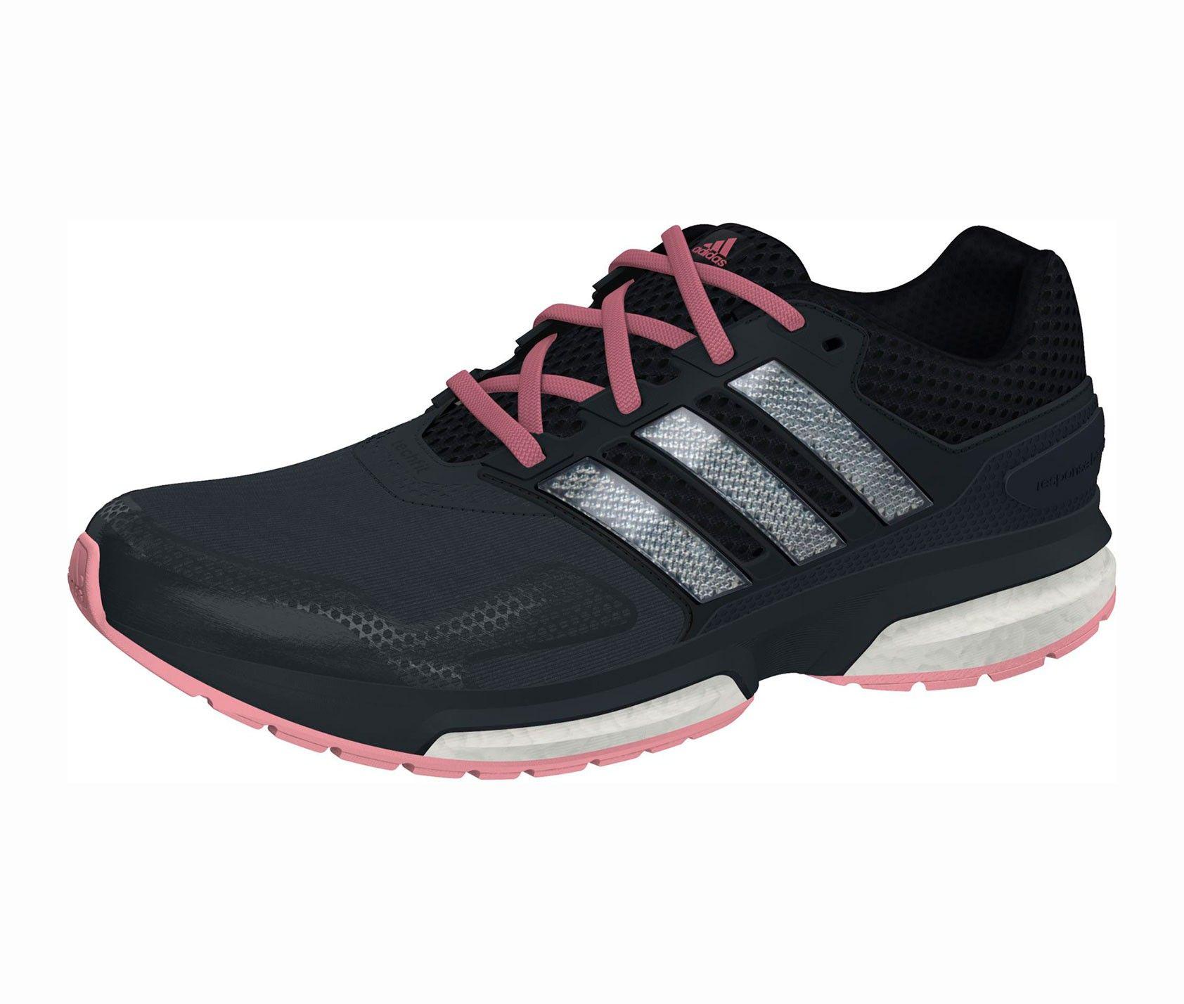 Zapatillas adidas Supernova negro rosa mujer premier fashion