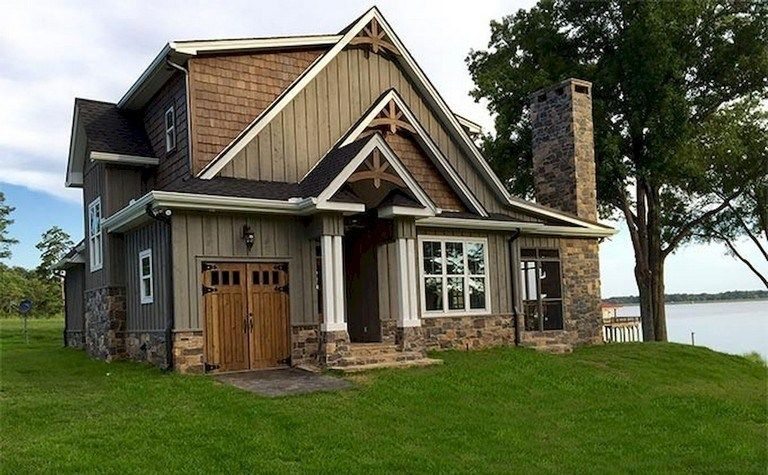 33 Lovely Lake House Exterior Design Ideas 17 Lakehouse Housedecor Housedesign Maanitech Com Lake Houses Exterior Small Lake Houses Cottage Exterior