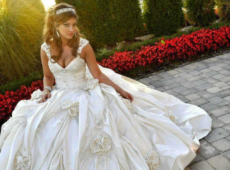 Beautiful Wedding Ballroom Gown