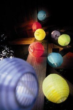 Sunniemart 20 LED Vintage Outdoor String Lights Solar Powered Chinese  Lantern Globe Lights String Fairy Lights For Garden Patio Tree Party Xmas  Wedding