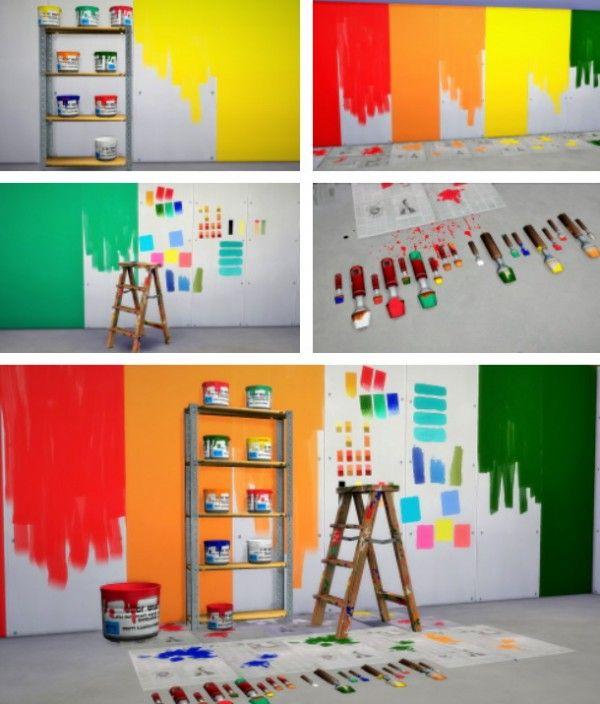 Sims  Spray Paint Cc