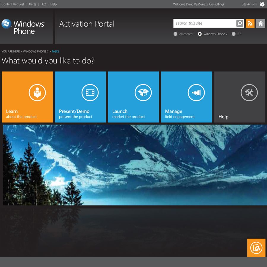 Sharepoint site design ideas - Sharepoint Portal Design