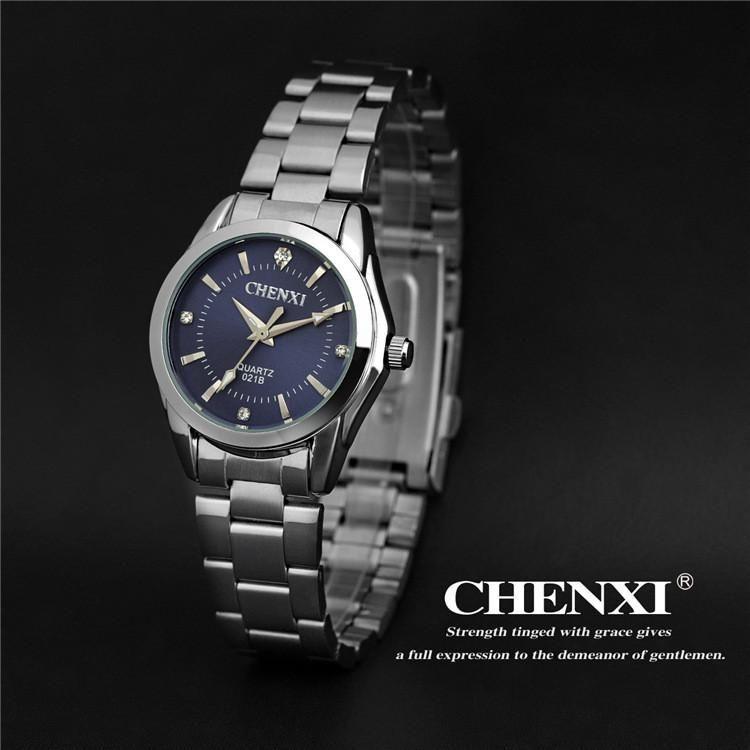 0122df3e236 CHENXI Women s Fashion Steel Watches Womens Simple style Females Quartz-watch  Ladies Luxurious Brands Wristwatch Relojes Mujer
