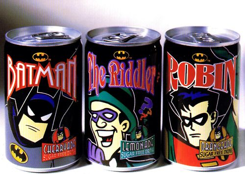 Batman: TAS Soda