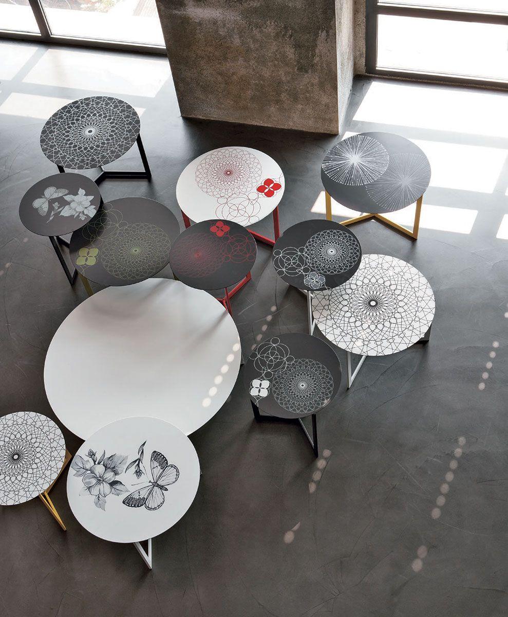 tavolino joy decor, personalizzabile con varie grafiche ... - Tavoli Soggiorno Tomasella 2
