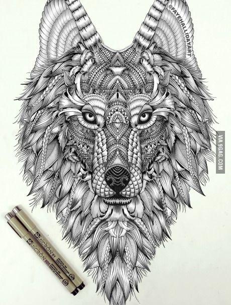 Winter Is Coming 9gag Design Art Wolf Tattoos Tattoos