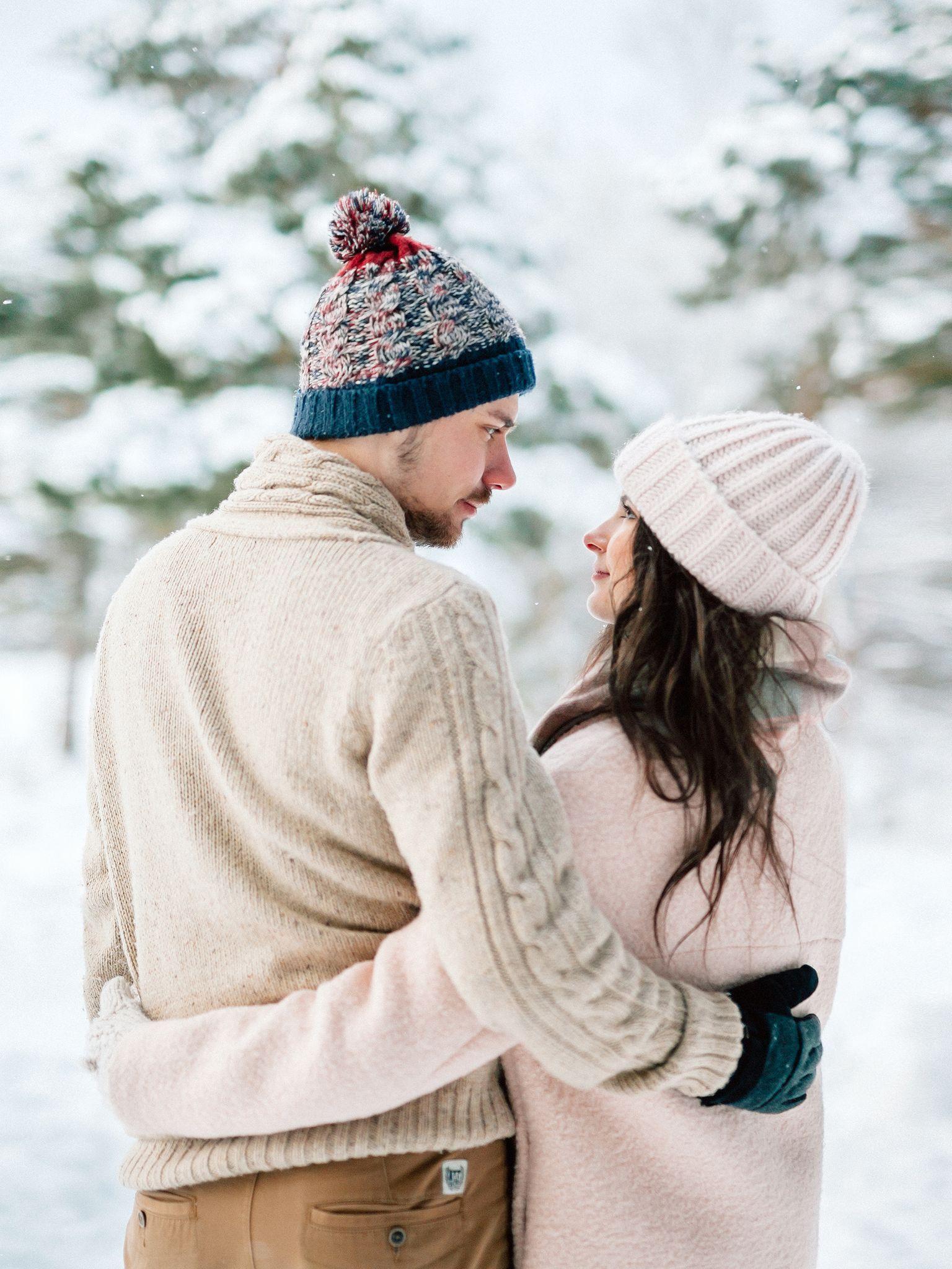 Пара картинки зима