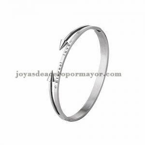 Pulsera Con Clavo De Plateado En Acero Inoxidable Ssbtg924131 Jewelry Silver Bracelet Silver
